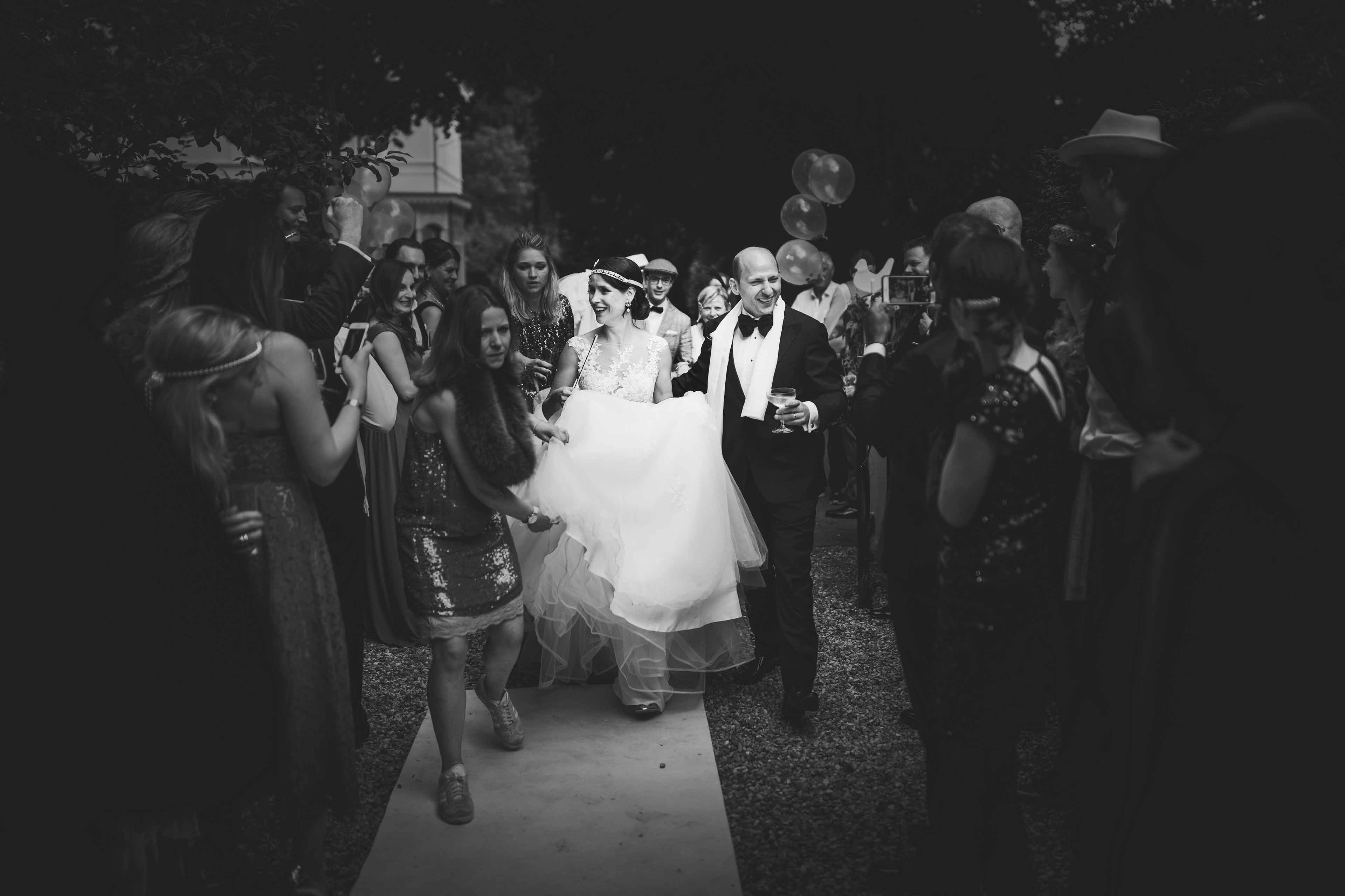trouwfeest-entree